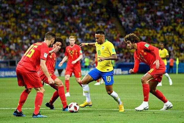 Kết quả bóng đá hôm nay (7/7): Brazil 1-2 Bỉ