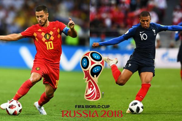 Lịch sử đối đầu Pháp vs Bỉ trước bán kết World Cup 2018