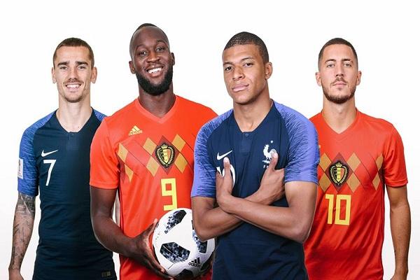 Đội hình Pháp vs Bỉ: Griezmann đấu Hazard