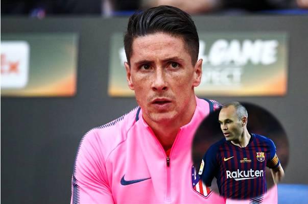 NÓNG: Rời Atletico, Fernando Torres chuẩn bị đối đầu Iniesta ở Nhật Bản
