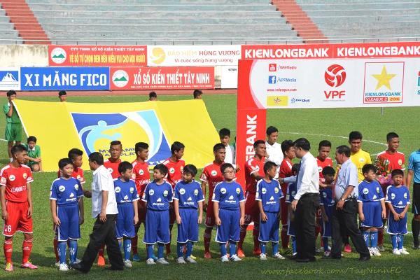 Kết quả CAND vs XM Fico Tây Ninh (FT 3-1): Thắng chung kết ngược, CAND thắp lửa hy vọng trụ hạng