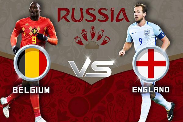 Lịch thi đấu bóng đá hôm nay (14/7): Anh vs Bỉ