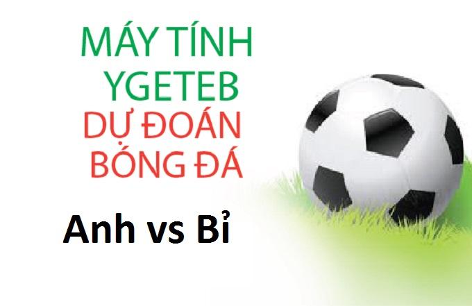 Máy tính Ygeteb dự đoán bóng đá World Cup Anh vs Bỉ