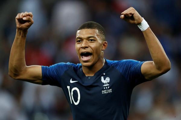 Mbappe đi vào lịch sử World Cup sau khi giúp Pháp vô địch