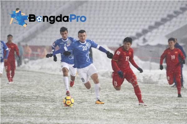 Lịch thi đấu Giải bóng đá U23 quốc tế - Cúp Vinaphone 2018: U23 Việt Nam vs U23 Uzbekistan