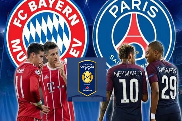 Lịch thi đấu bóng đá hôm nay (21/7): Bayern Munich vs PSG
