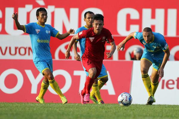 Bảng xếp hạng V.League 2018 hôm nay (22/7): Sanna Khánh Hòa vững Top 2, TP.HCM thoát 'đèn đỏ'