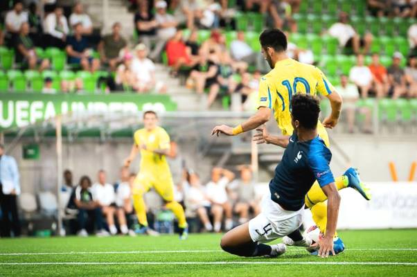 Kết quả U19 Ukraine vs U19 Thổ Nhĩ Kỳ, vòng bảng U19 châu Âu 2018