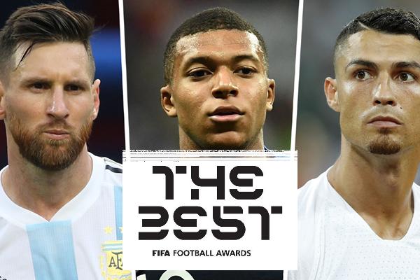FIFA chính thức công bố 10 ứng viên The Best 2018: Ronaldo đấu Messi, Mbappe, Salah