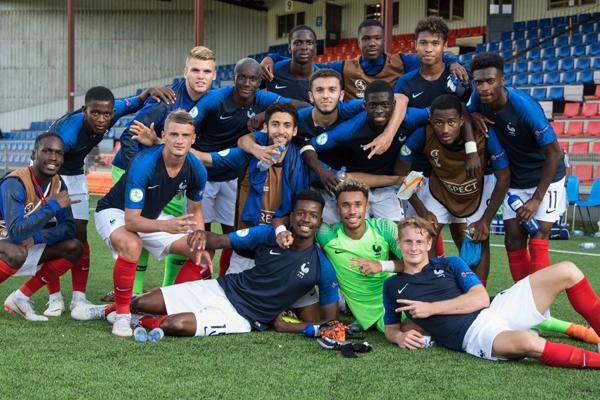 Kết quả bóng đá hôm nay (24/7): U19 Anh 0-5 U19 Pháp