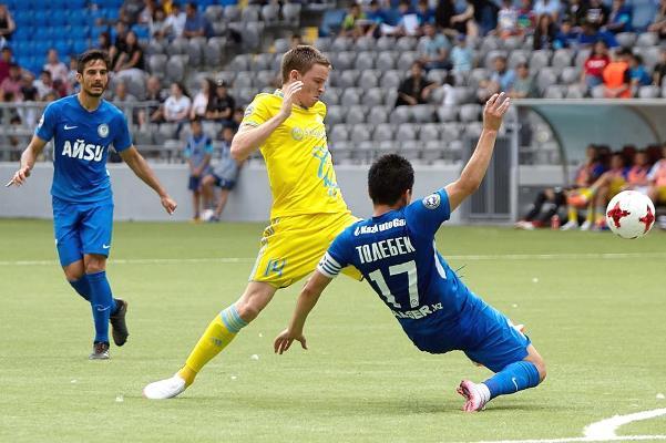 Trực tiếp kết quả vòng loại cúp C1 hôm nay Astana vs Midtjylland