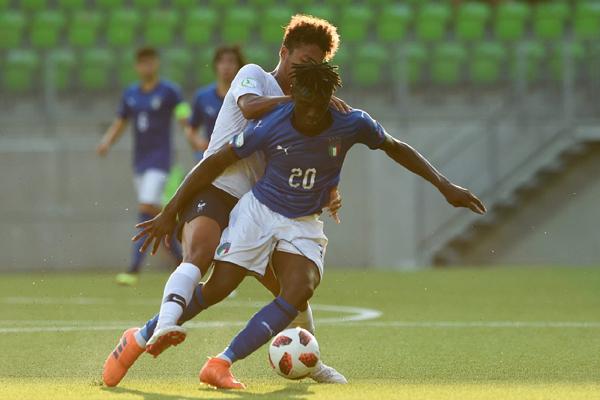 Kết quả U19 Italia vs U19 Pháp (FT: 2-0), bán kết U19 châu Âu 2018