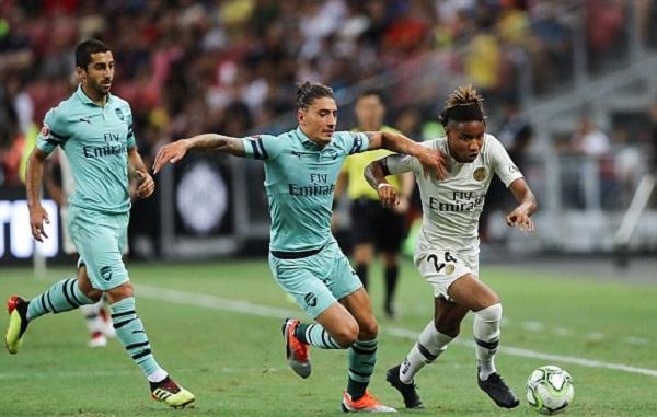 Kết quả Arsenal vs PSG (FT: 5-1): Chiến thắng tưng bừng của pháo thủ