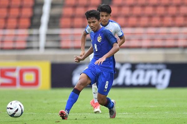 Kết quả U16 Thái Lan 2-1 U16 Malaysia