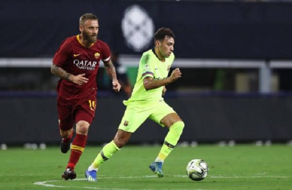 Kết quả Barca vs AS Roma, (FT: 2-4): Barca thua thảm trong ngày thiếu vắng Messi
