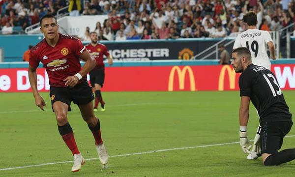 Kết quả MU vs Real Madrid (FT 2-1): Sanchez chói sáng, Qủy đỏ 'khóa mỏ' Kền kền