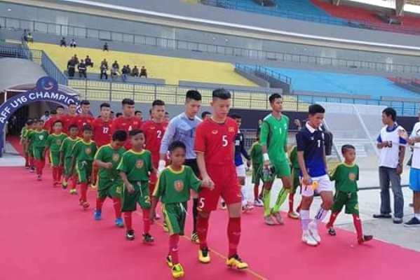 Kết quả U16 Đông Timor 2-1 U16 Campuchia: 3 điểm đầu tiên