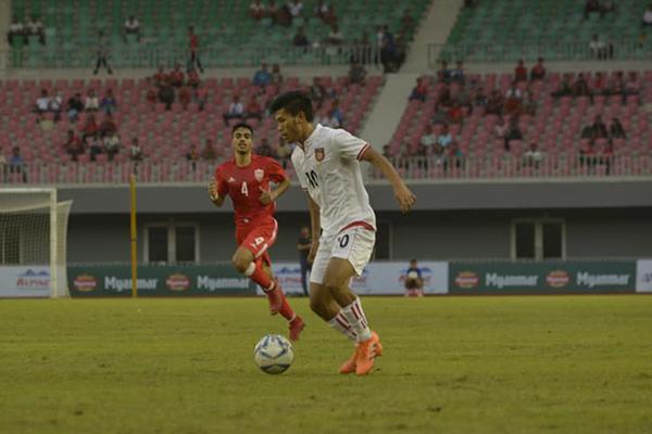 Kết quả U23 Myanmar 1-1 U23 Bahrain: U23 Myanmar có điểm số đầu tiên tại Alpine Cup 2018