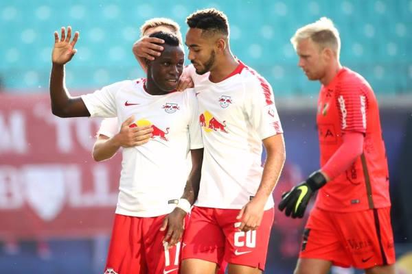 Kết quả Leipzig 0-3 Huddersfield Town, giao hữu CLB