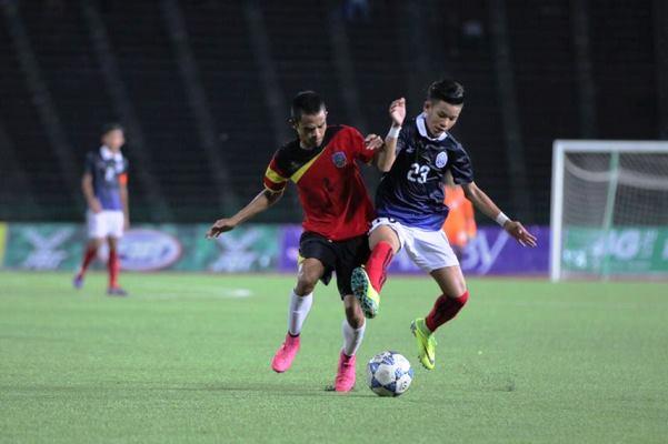 Kết quả U16 Timor Leste 4-1 U16 Philippines, bảng A U16 Đông Nam Á 2018