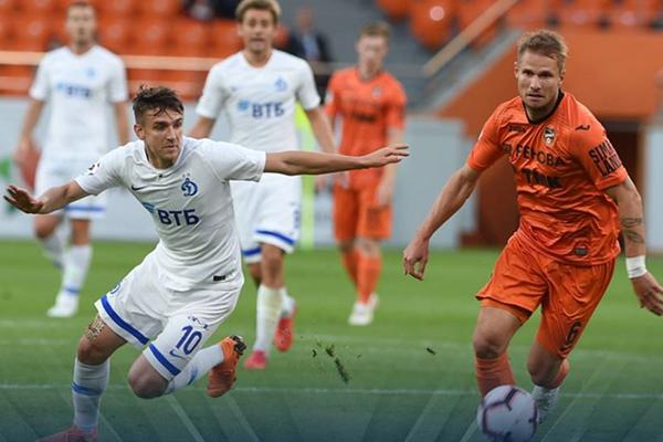 Kết quả vòng 3 giải VĐQG Nga: Ural 1-1 Dinamo Moscow