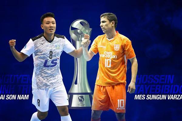 Kết quả chung kết Futsal CLB châu Á 2018: Thái Sơn Nam 2-4 Mes Sungun Varagha