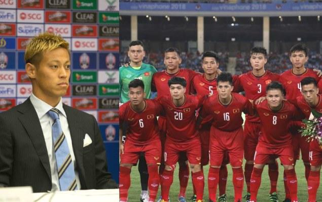 SỐC: Keisuke Honda dẫn dắt ĐT Campuchia, sẵn sàng 'chiến' ĐT Việt Nam ở AFF Cup 2018