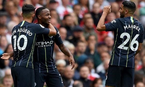 Kết quả Arsenal vs Man City (FT: 0-2): Sterling và Bernardo Silva lập công