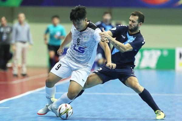 Video bàn thắng Thái Sơn Nam vs Mes Sungun Varaghan (chung kết Futsal các CLB châu Á 2018)