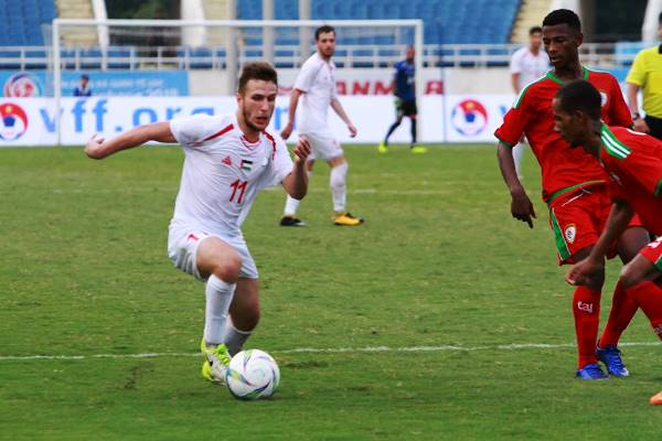 Kết quả vòng bảng ASIAD 2018: U23 Lào 1-2 U23 Palestine