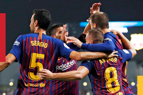 Kết quả bóng đá hôm nay (13/8): Barcelona 2-1 Sevilla