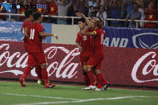 Kết quả U23 Việt Nam vs U23 Pakistan, 16h ngày 14/8