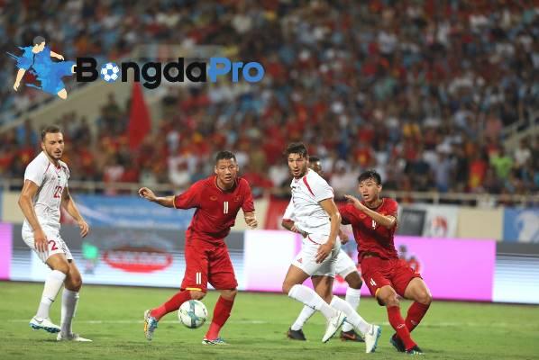 Thông tin lực lượng trước trận U23 Việt Nam vs U23 Pakistan