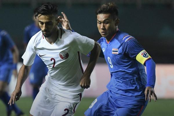 Kết quả bảng B ASIAD 2018: U23 Thái Lan 1-1 U23 Qatar