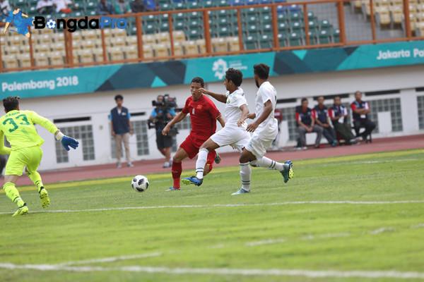 Diễn biến U23 Việt Nam vs U23 Pakistan