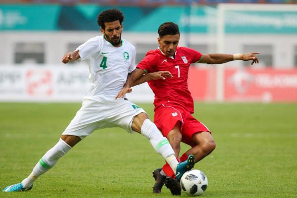 Kết quả bóng đá nam ASIAD 2018: U23 Ả Rập Xê Út 0-0 U23 Iran