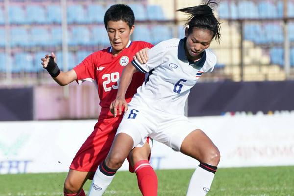 Kết quả nữ Thái Lan vs nữ Nhật Bản: 0-2 (FT)