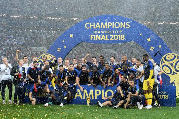 BXH FIFA tháng 8/2018: Pháp lên số 1 sau chức vô địch World Cup 2018