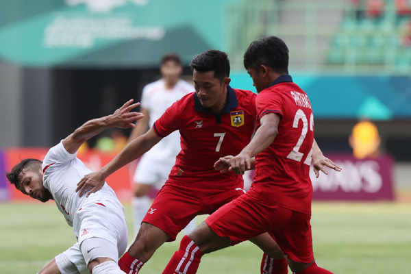 Kết quả ASIAD 2018: U23 Indonesia 3-0 U23 Lào