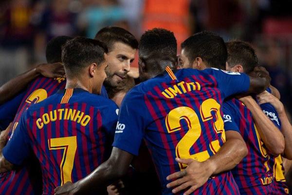 Bảng xếp hạng La Liga 2018/19: Barcelona dẫn đầu sau ngày khai mạc