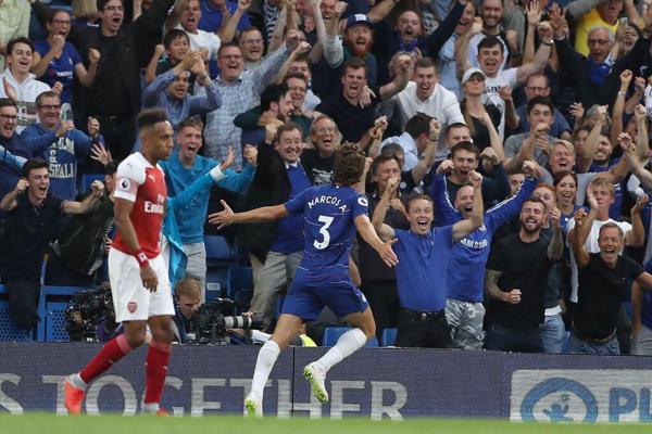 Bảng xếp hạng Ngoại hạng Anh 2018/19: Đánh bại Arsenal, Chelsea vươn lên dẫn đầu