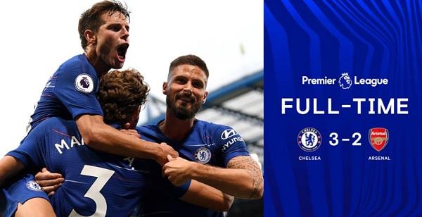 Kết quả vòng 2 Ngoại hạng Anh. Chelsea 3-2 Arsenal: chiến thắng thuyết phục