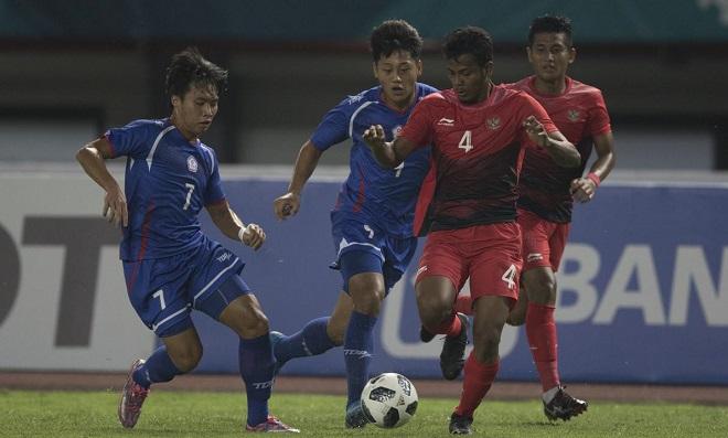 Nhận định kèo U23 Idonesia vs U23 Hong Kong (19h00 ngày 20/08,  ASIAD 2018)