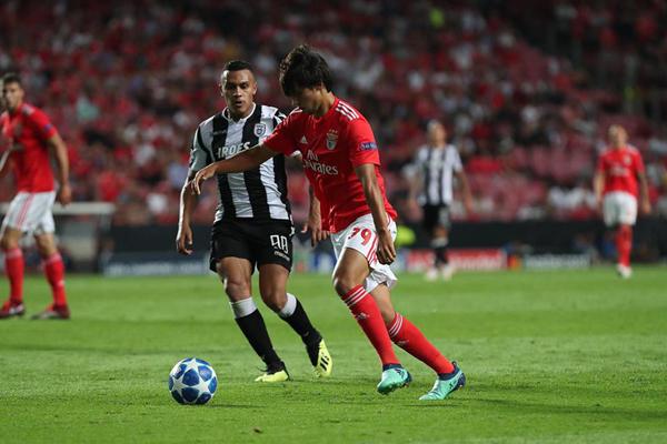 Kết quả bóng đá hôm nay (22/8): Benfica 1-1 PAOK Saloniki