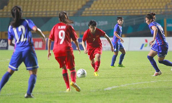 Kết quả Nữ Việt Nam 0-0 Nữ Đài Loan (Pen 3-4): Việt Nam lỡ hẹn bán kết