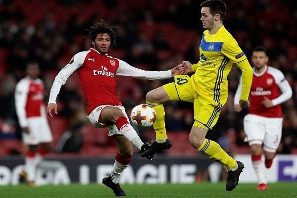 Xem BATE Borisov vs Arsenal trực tiếp kênh nào?