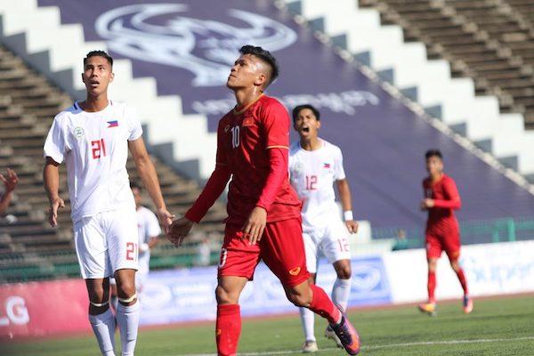 U22 Việt Nam 2-1 U22 Philippines: Ngược dòng xuất sắc