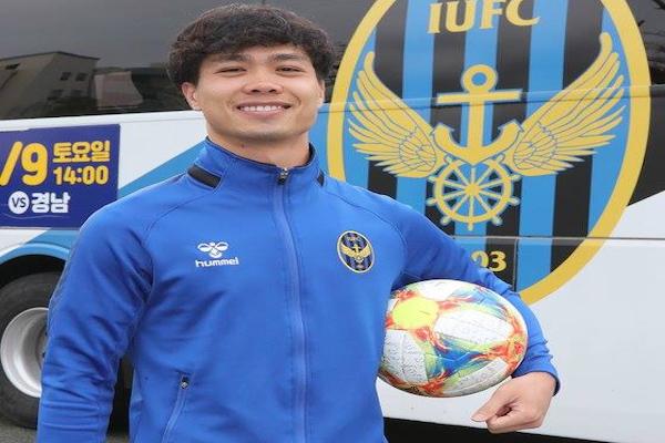 Công Phượng nói gì sau khi ghi bàn ngay trận ra mắt Incheon United vs Busan Metro?