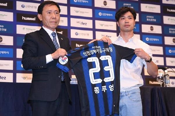 Đội hình Incheon United đá K League 2019: Công Phượng số 23