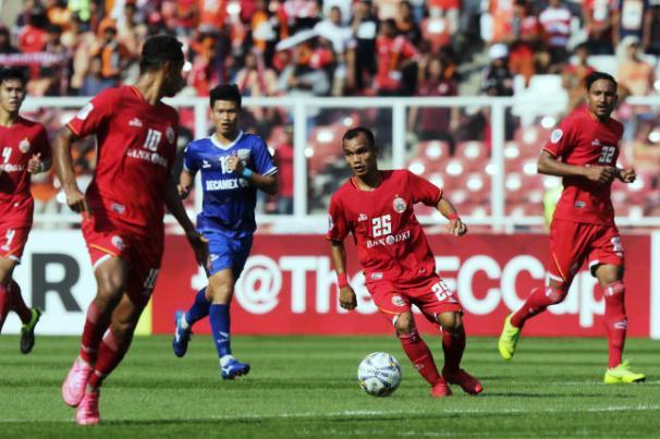 Kết quả Persja Jakarta vs Bình Dương (FT 0-0): Đại diện V-League chia điểm đáng tiếc